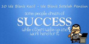 10 Ide Bisnis Kecil setelah pensiun